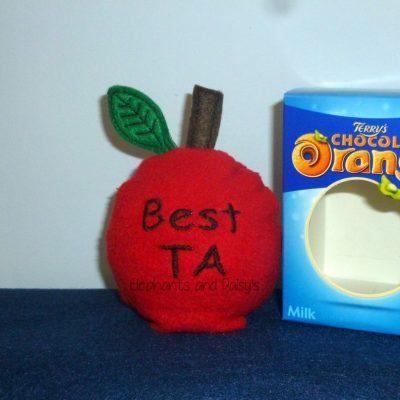 Best TA Apple Choc Orange Cosy Design file