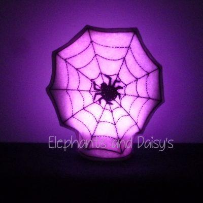 Spiders Web Tea Light Design file