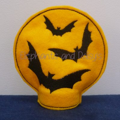 Bat Moon Tea light Design file