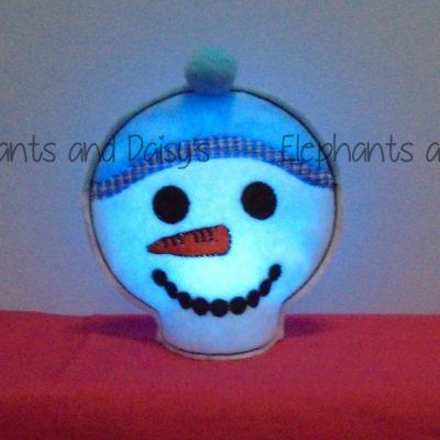 Snowman Tealight Design file