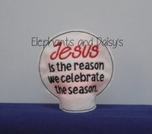 Jesus Is The Reason Tealight Design file