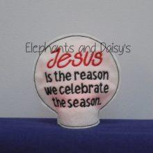 Jesus Is The Reason Tealight Design file