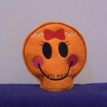 Gingerbread Girl Tealight Design file