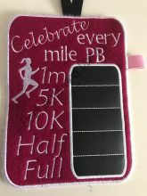 Running Girl Chalkboard Design file