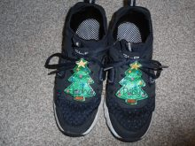 Christmas Tree Shoe Charms Design file