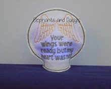Wings Ready Tealight Design file