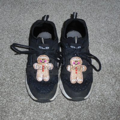 Gingerbread Man Shoe Charm Design file