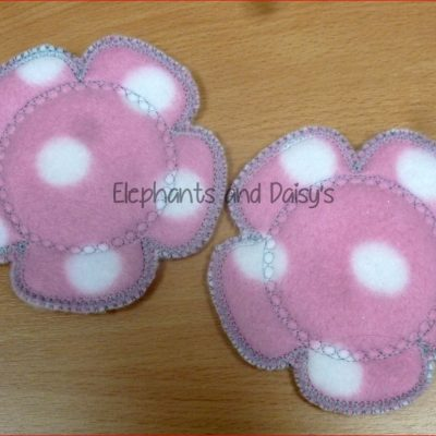 Flower Breast Pad Design file