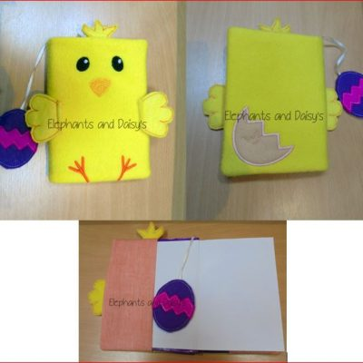 Chick A6 Notebook Cover Design file
