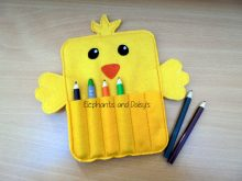 Chick Crayon Holder Design file