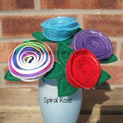 Spiral Rose Design file