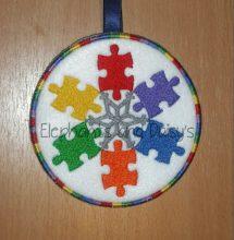 Autism Snowflake Design file