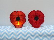 Poppy Tealight Holder Design file