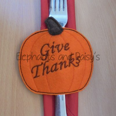Pumpkin Napkin Holder Design file