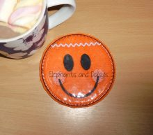 Gingerbread Man Coaster Design