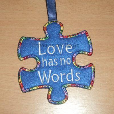 Love Has No Words Design file