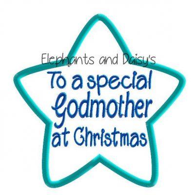 Godmother Christmas Star Design file