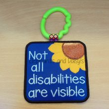 Not All Disabilities Are Visible Design file